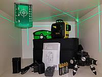 ☀БИРЮЗОВЫЙ ЛУЧ⇒50м☀⏏ПРИЕМНИК☀ Лазерный уровень Firecore F93T XG ➤⏏максимальная комплектация
