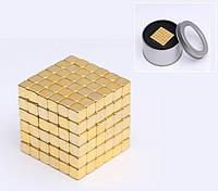 ГоловоломкаTETRACUBE (тетракуб) 216шт. 5мм ЗОЛОТО ♦Перевернет ваше воображение♦ кубики