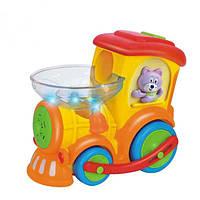 Развивающая игрушка Huile Toys Паровозик Ту-Ту 958