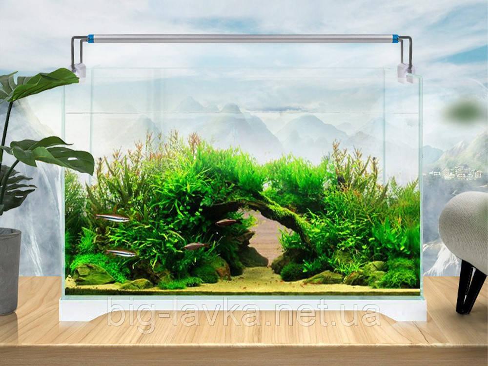 Светодиодная лампа для аквариума 18 см Алюминий - фото 6