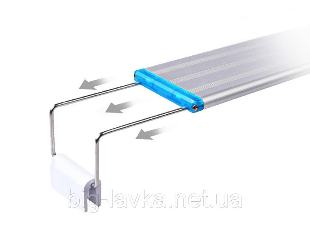 Светодиодная лампа для аквариума 18 см Алюминий - фото 5
