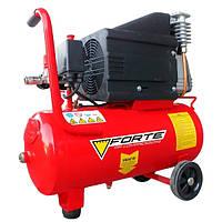 Компрессор Forte NC-24-10 (1,8 кВт, 285 л/мин, 24 л)