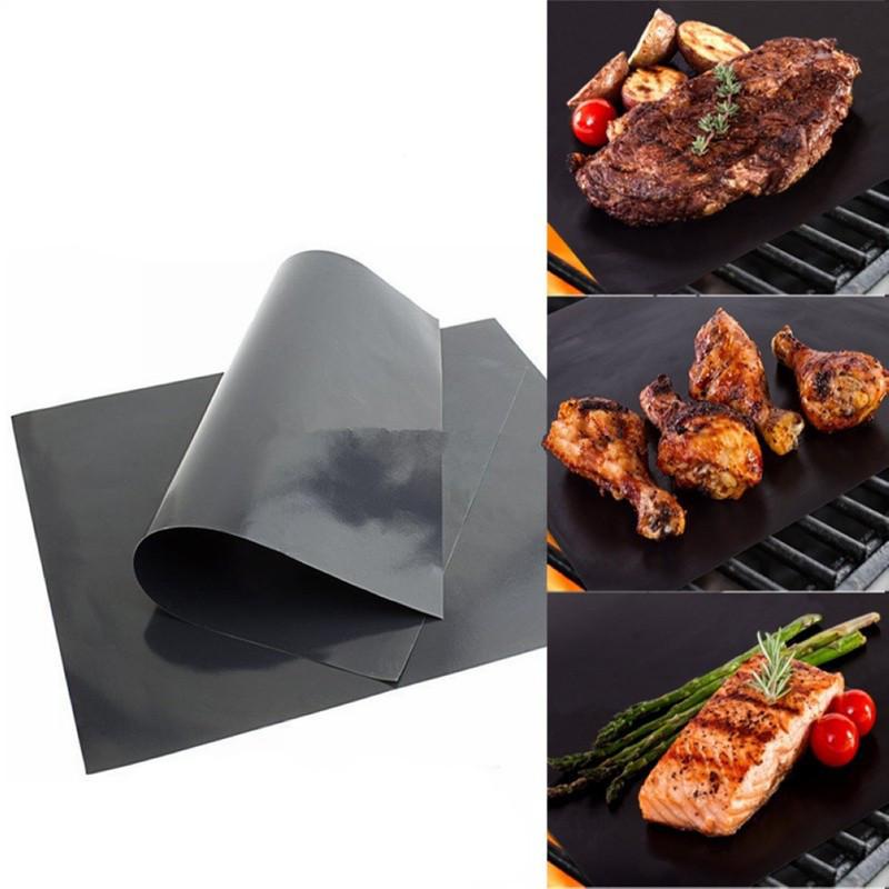 Тефлоновый лист для выпечки Черный  60 х 40 см