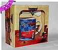 Чашка подарочная  ТАЧКИ с ложкой фарфор 300 мл , купить оптом со склада Одесса 7км, фото 3