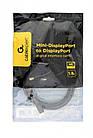 Кабель Cablexpert (CCP-mDP2-6), MiniDisplayPort-DisplayPort, 1.8м, черный, фото 2