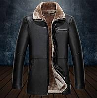 Дубленка молодежная, куртка кожаная зимняя с натуральной кожи и овчины.