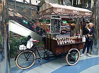 """Велотележка для велокофейни """"Old Europe""""(ВТ-2), фото 1"""