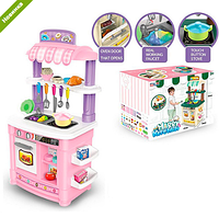 Детская кухня высокая  BL-103A (аналог STEP2 ) музыкальная с водой и продуктами ***