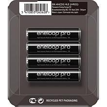 Акумулятори Panasonic Eneloop Pro AAA/HR03 NI-MH 930 mAh BL 4 шт (BK-4HCDE/4LE)