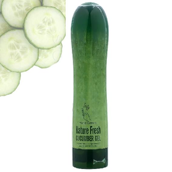 Крем для рук Wokali Nature Fresh Cucumber Gel с экстрактом огурца 100 гр