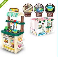 Детская кухня высокая  BL-103B (аналог STEP2 ) музыкальная с водой и продуктами ***