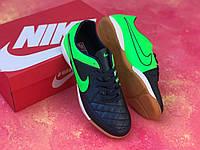 Футзалки NIKEE Tiempo /футбольная обувь/найк темпо, фото 1