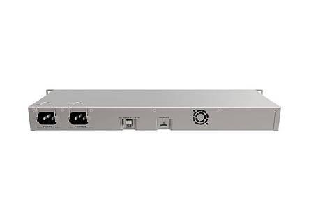 Маршрутизатор MikroTik RB1100AHx4 Dude Edition (4x1,4GHz/1Gb, ARM 32Bit, 13xGE, PoE In, 60Gb SSD), фото 2