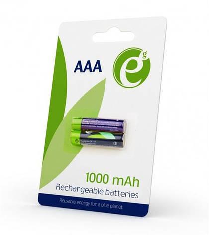 Акумулятор EnerGenie AAA/HR03 Ni-MH 1000 mAh BL 2шт, фото 2