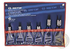 Набор съёмников стопорных колец 6 пр. KING TONY 42116GP
