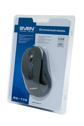 Мышь Sven RX-170 Black USB, фото 3