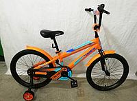 Детский велосипед JK-711 CROSSER (20 дюймов) оранжевый ***