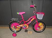 Двухколесный велосипед 20 дюймов  Mustang WINX розовый с корзинкой ***