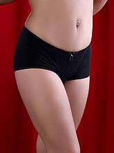 Трусики женские Diorella 60277, цвет Черный, размер L