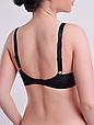 Бюстгальтер Diorella 63395D, колір Чорно-Коричневий,  розмір 75D, фото 2