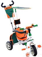 Велосипед детский трехколесный Azimut BC-15 An Safari Ева колеса (белый)