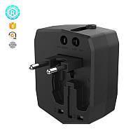 Сетевое зарядное устройство Nomi UC01 (2USBx2.5A) Black (338348)