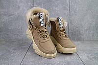 Ботинки женские Best Vak БЖ 52-704 бежевые (натуральная кожа, зима)ОБ