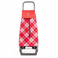 Сумка тележка на колесах, сумка тележка хозяйственная, Rolser Jet C. Capri Joy 40 Rojo
