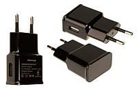 Сетевое зарядное устройство Grand-X (1xUSB 1A) Black (CH-765B)