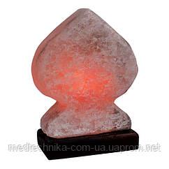 """Соляная лампа """"Дама"""", дерево, 1,7 кг"""