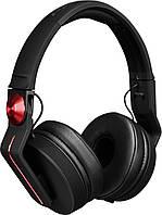 Наушники накладние PIONEER HDJ-700R black-red