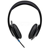 Наушники с микрофоном LOGITECH H540 black