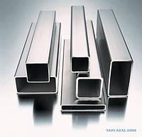 Труба алюминиевая профильная 40х20х2, 50х30х2, 60х40х3,5 АД31, АД