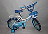 Велосипед двухколёсный 18 дюймов Azimut Haррy Crosser-4 синий  ***