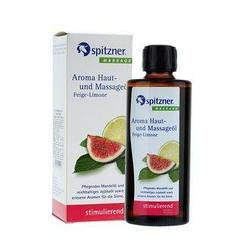 """Массажное масло для ароматерапии """"Инжир и Лайм"""" Spitzner Massage, 190 ml."""