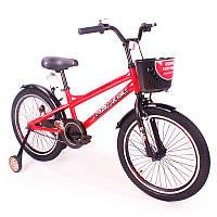 """Детский двухколесный велосипед колеса 20 дюймов """"ZEBR CROSSING-20"""" Red"""