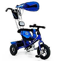 Детский трехколесный велосипед WS-862AW 12\10, Синий