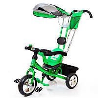 Детский трехколесный велосипед Lex-007 (10/8 EVA wheels) Green