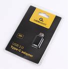 Адаптер Cablexpert (CC-USB2-CMAF-A) USB Type-C (вилка) - USB AF (розетка), фото 2