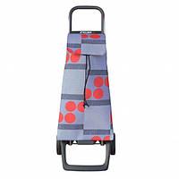 Сумка тележка на колесах, сумка тележка хозяйственная, Rolser Jet Logos Joy 40 Rojo