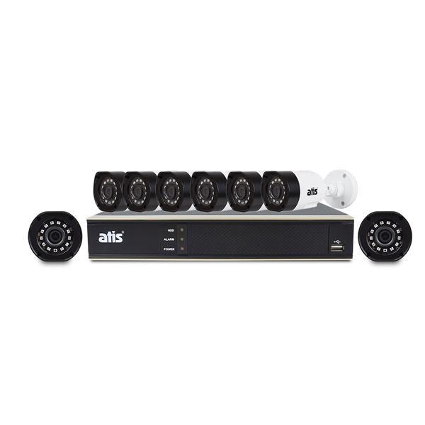 Комплект відеоспостереження, ATIS kit 8ext 2MP