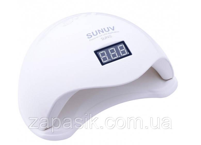 Лампа Для Маникюра Sun 5 Nail Lamp FD93-1 УФ Led Для Сушки Гель Лака