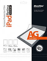 Защитная пленка Monifilm для iPad 2, New iPad 3, iPad 4, AG - матовая (M-APL-P302)