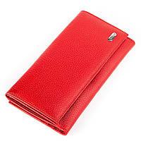 Кошелек женский CANPELLINI 17043 кожаный Красный, Красный, КОД: 191394
