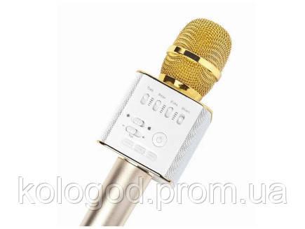 Портативный Микрофон DM Karaoke Q9 Беспроводной Микрофон Для Караоке