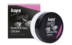 Восстанавливающий крем для обуви, жидкая кожа Kaps Renovating Cream25 ml