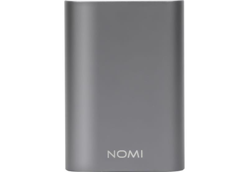 Универсальная мобильная батарея Nomi U100 10000mAh Silver (466792)