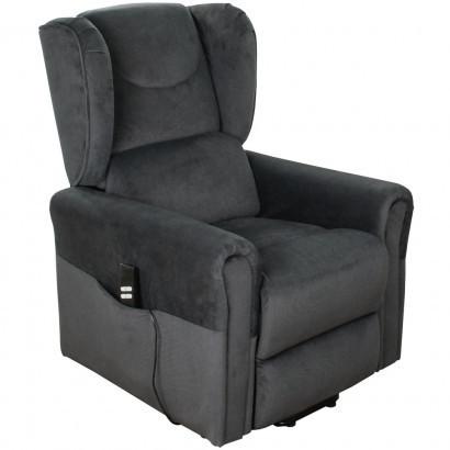 Подъемное кресло с двумя моторами, BERGERE (грифельно-серое)