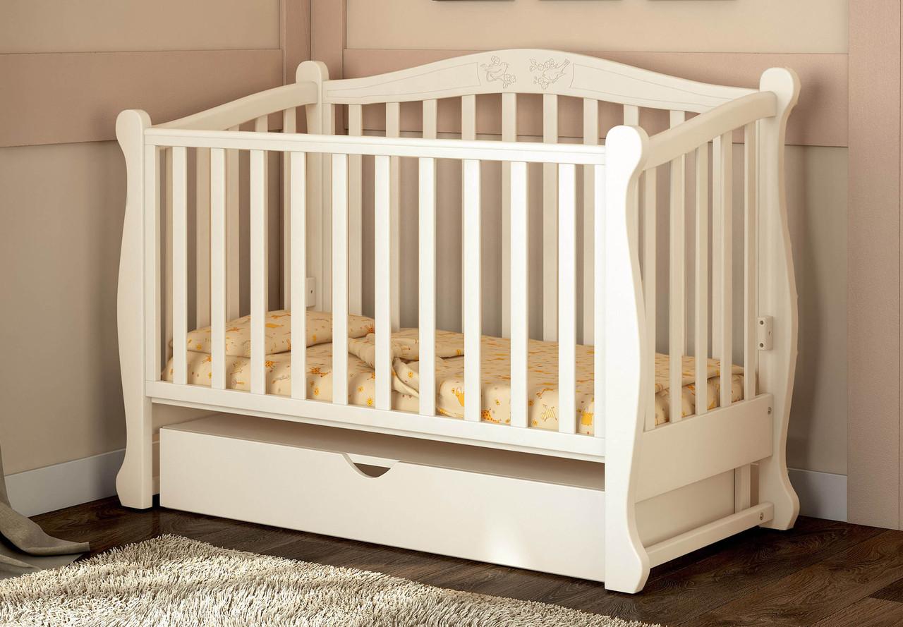 Детская кроватка Prestige 8 маятник ваниль