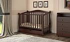 Детская кроватка Prestige 8 маятник ваниль, фото 4